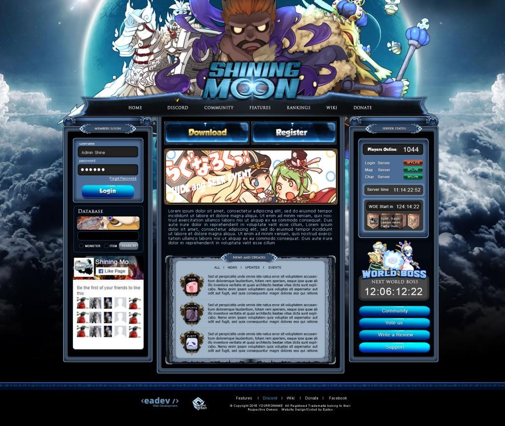 Shining Ragnarok Online