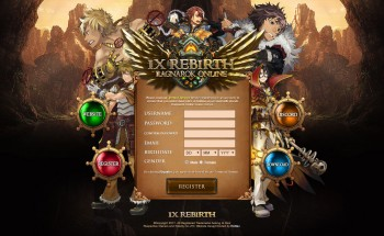 IxRebirth Landing Page