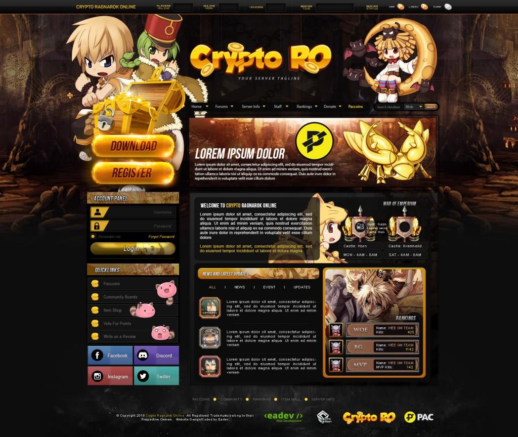 Crypto Ragnarok Online