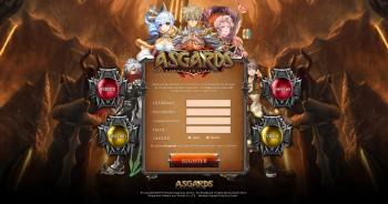 Asgard Landing page