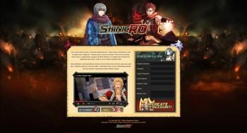 ShinicRO Landing Page